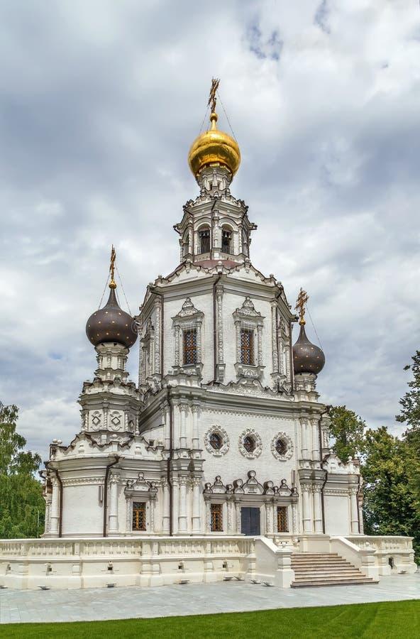 Εκκλησία της ιερής τριάδας, Μόσχα, Ρωσία στοκ φωτογραφία με δικαίωμα ελεύθερης χρήσης