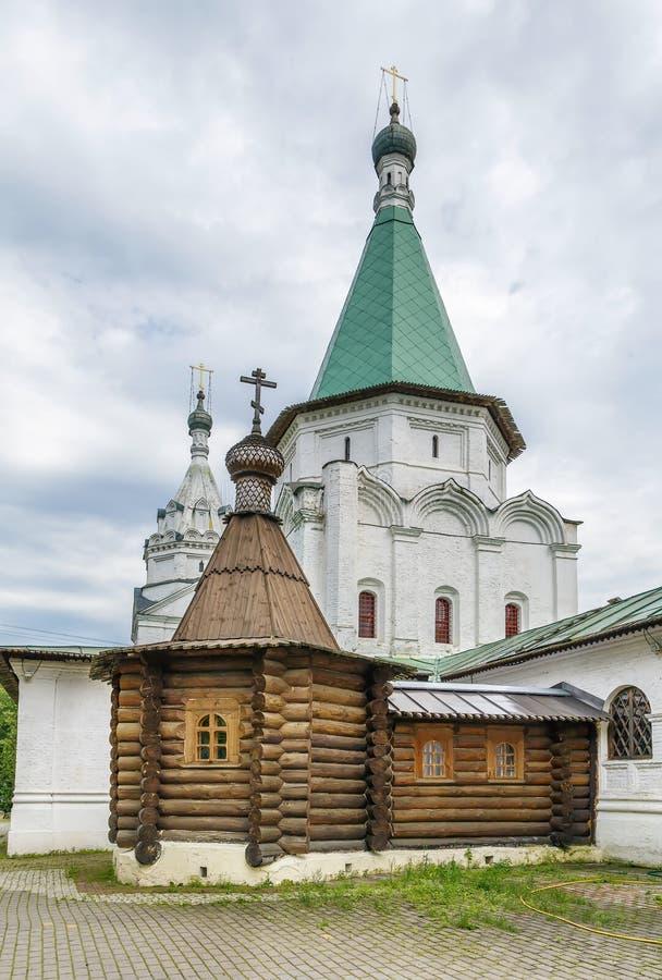 Εκκλησία της ιερής τριάδας σε troitse-Golenishchevo, Ρωσία στοκ εικόνες