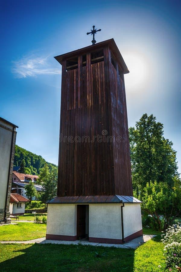 Εκκλησία της ιερής τριάδας στη Nova Varos στη Σερβία στοκ εικόνα με δικαίωμα ελεύθερης χρήσης