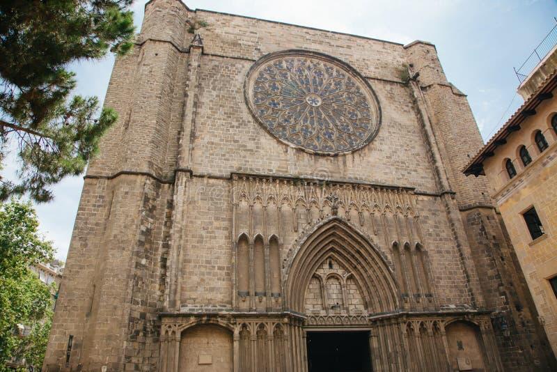Εκκλησία της Σάντα Μαρία del pi στοκ εικόνες με δικαίωμα ελεύθερης χρήσης