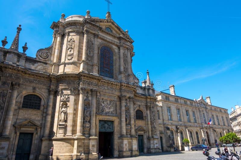 Εκκλησία της Notre-Dame στο Μπορντώ, Aquitaine, Γαλλία στοκ εικόνες με δικαίωμα ελεύθερης χρήσης