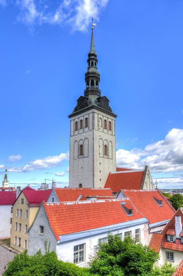 Εκκλησία του Άγιου Βασίλη, Ταλίν, Εσθονία στοκ εικόνες