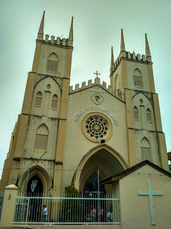 Εκκλησία του αιώνα του ST Francis Xavier 19 στοκ εικόνες