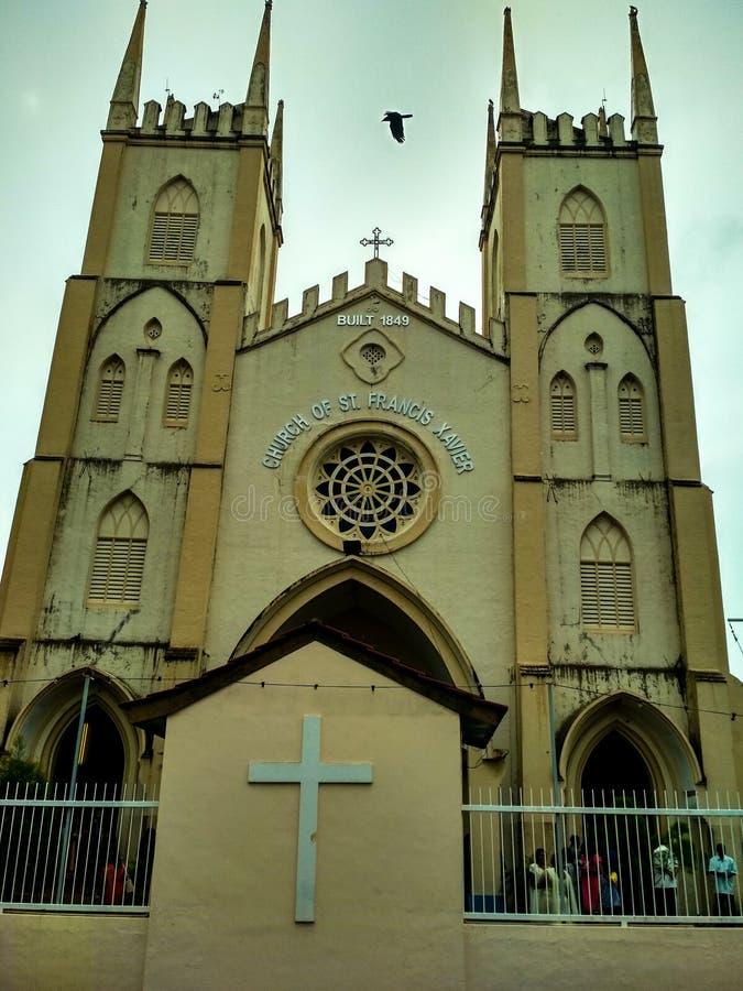Εκκλησία του αιώνα του ST Francis Xavier 19 στοκ εικόνα