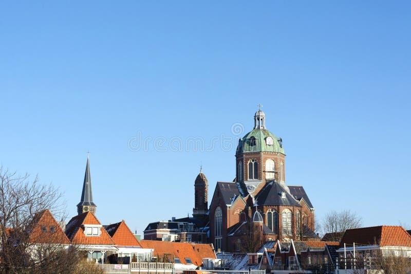 Εκκλησία του Κόεπελκερκ Άγιος Κυριάκος εν Φρανσισκούσκερκ στην πόλη Χορν, Κάτω Χώρες στοκ εικόνες με δικαίωμα ελεύθερης χρήσης