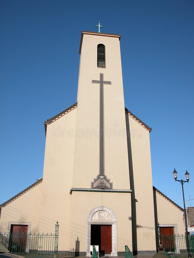 εκκλησία του Μπλάκπουλ στοκ φωτογραφία