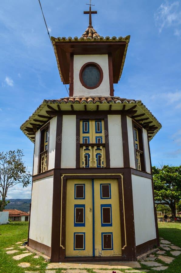 Εκκλησία του Ροσάριο σε Milho Verde, Minas Gerais Βραζιλία στοκ εικόνες με δικαίωμα ελεύθερης χρήσης