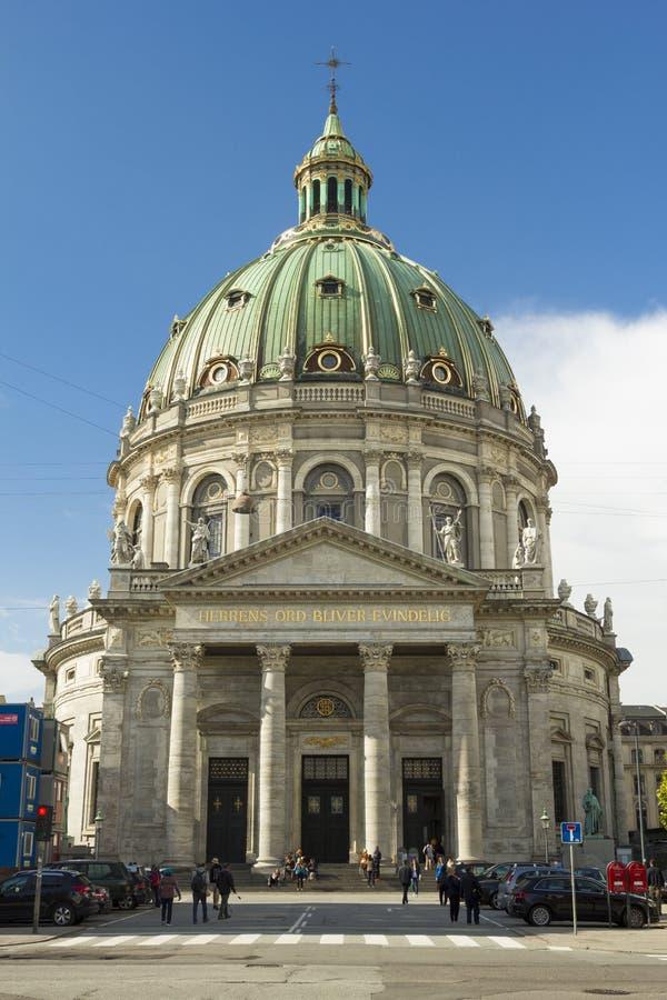 Εκκλησία του Frederik ` s στην Κοπεγχάγη στοκ εικόνα με δικαίωμα ελεύθερης χρήσης
