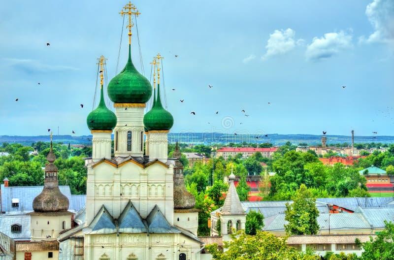 Εκκλησία του John ο απόστολος στο Ροστόφ Κρεμλίνο, Yaroslavl oblast, Ρωσία στοκ εικόνες