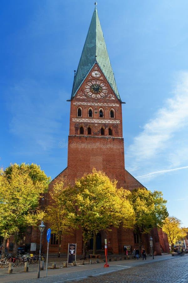Εκκλησία του John ο βαπτιστικός ή το Johanniskirche σε Luneburg r στοκ εικόνα