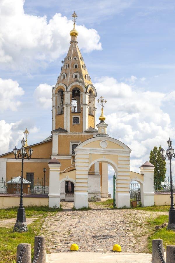 Εκκλησία του Nativity της Virgin Χωριό Gorodnya, περιοχή Tver στοκ φωτογραφία με δικαίωμα ελεύθερης χρήσης