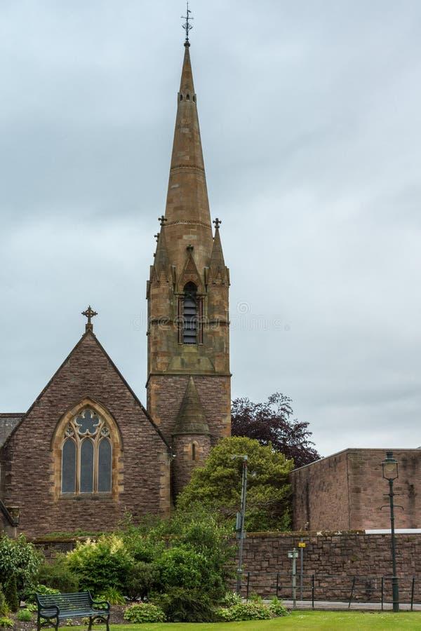Εκκλησία του Saint-Andrews στο οχυρό William Σκωτία στοκ εικόνα με δικαίωμα ελεύθερης χρήσης