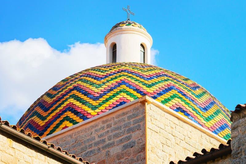 Εκκλησία του SAN Paolo Apostolo σε Olbia Σαρδηνία στοκ φωτογραφία με δικαίωμα ελεύθερης χρήσης