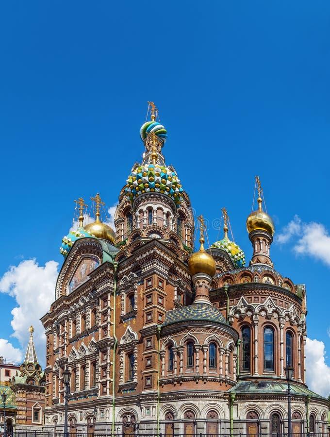 Εκκλησία του Savior στο αίμα, Άγιος Πετρούπολη, Ρωσία στοκ φωτογραφία με δικαίωμα ελεύθερης χρήσης