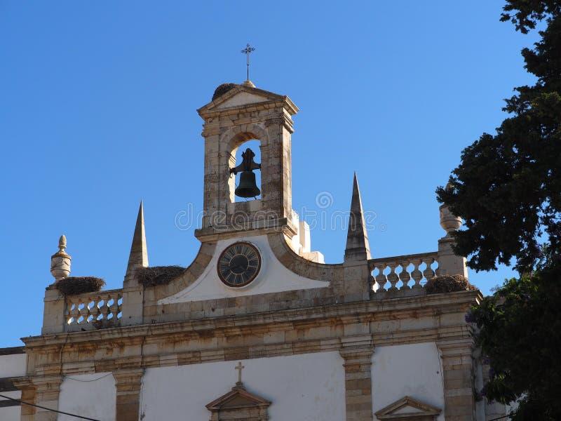 Εκκλησία του SE Faro Πορτογαλία στοκ εικόνα με δικαίωμα ελεύθερης χρήσης