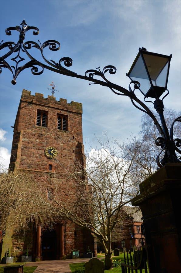 Εκκλησία του ST Andrews, Penrith - ορόσημα σε Penrith, Cumbria στοκ εικόνα με δικαίωμα ελεύθερης χρήσης