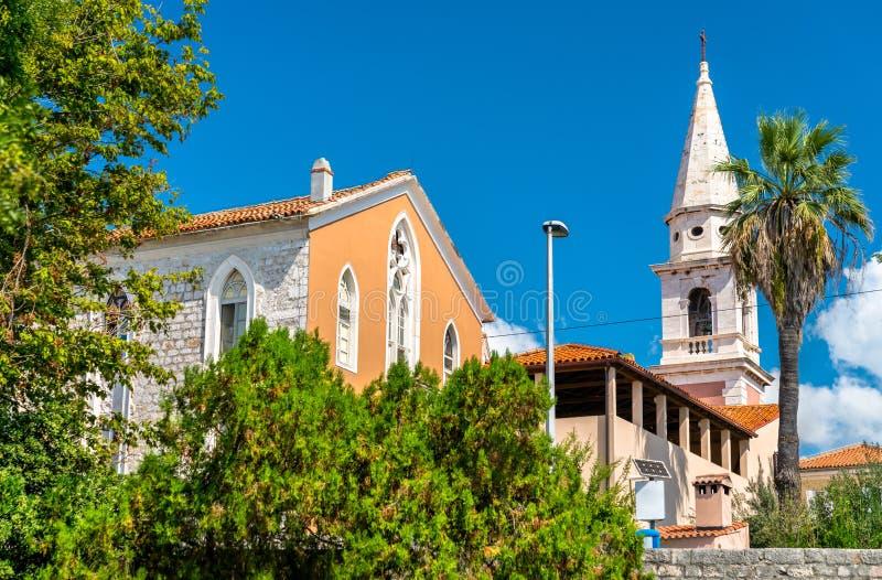 Εκκλησία του ST Francis σε Zadar, Κροατία στοκ εικόνα
