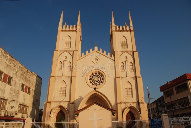 Εκκλησία του ST Francis Xavier στοκ φωτογραφία