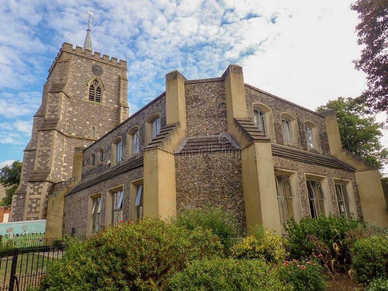 Εκκλησία του ST Mary, οδός εκκλησιών, Watford στοκ εικόνες