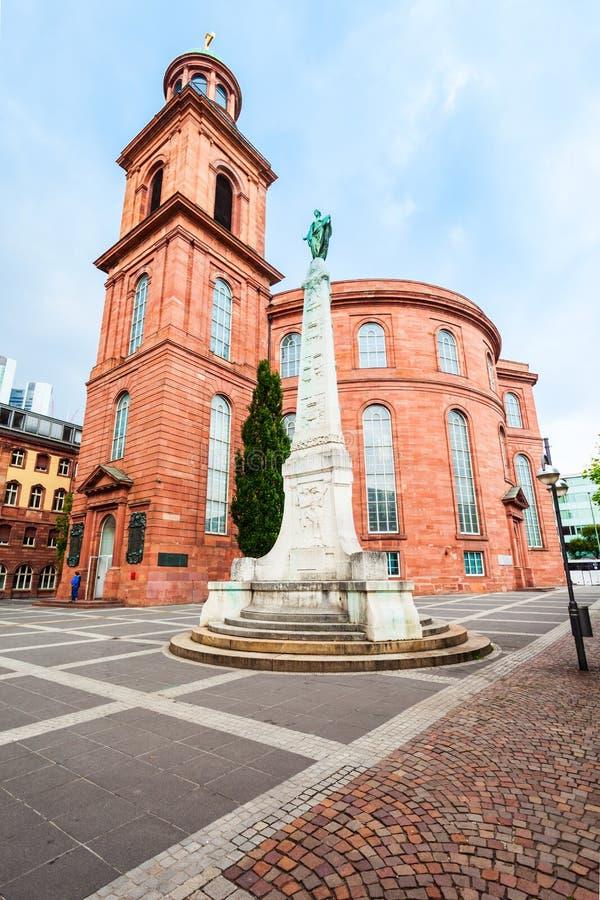 Εκκλησία του ST Paul στη Φρανκφούρτη στοκ εικόνες