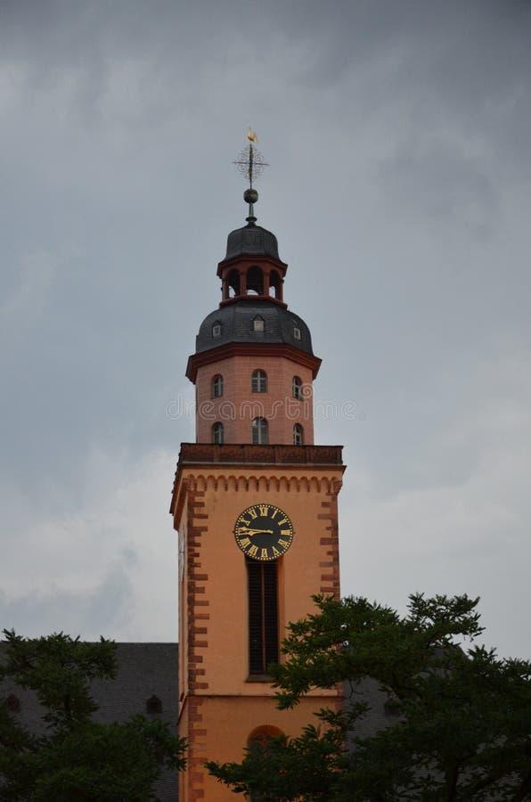 Εκκλησία του ST Paul στις οδούς της Φρανκφούρτης στοκ φωτογραφίες με δικαίωμα ελεύθερης χρήσης