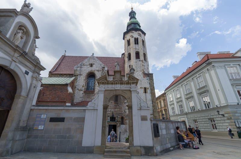 Εκκλησία του ST Peter και του ST Paul στην Κρακοβία, Πολωνία στοκ φωτογραφία με δικαίωμα ελεύθερης χρήσης