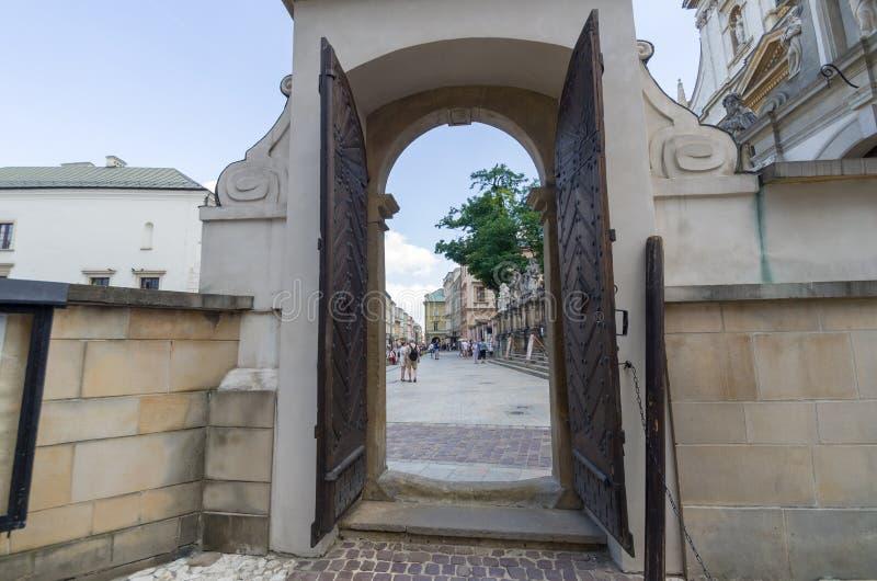 Εκκλησία του ST Peter και του ST Paul στην Κρακοβία, Πολωνία στοκ εικόνα με δικαίωμα ελεύθερης χρήσης