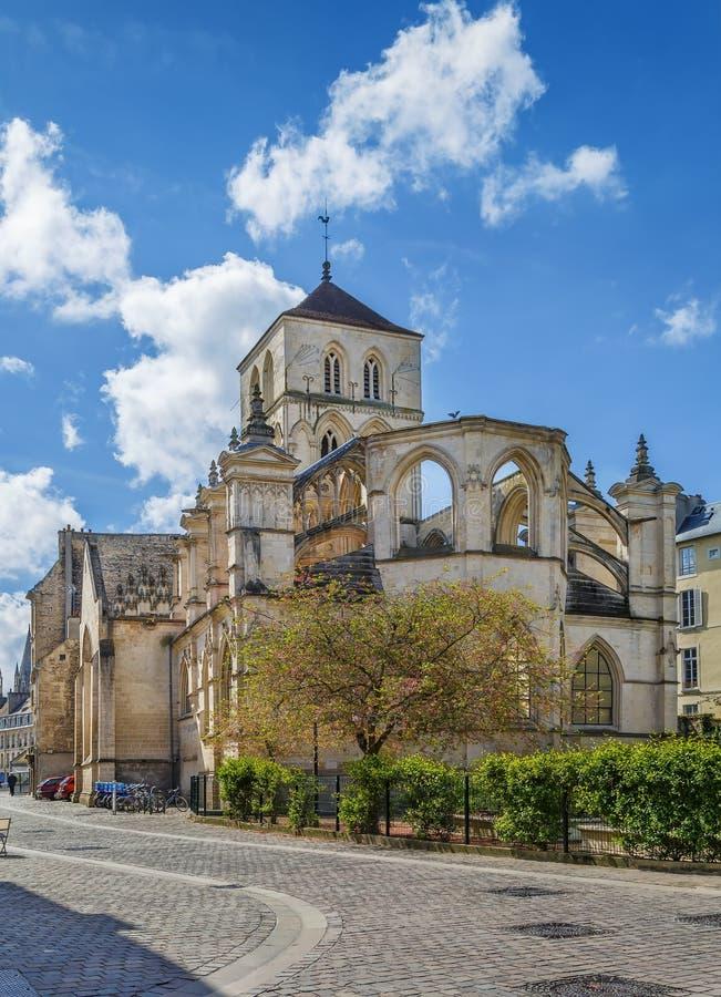 Εκκλησία του ST Savior, Καέν, Γαλλία στοκ φωτογραφία με δικαίωμα ελεύθερης χρήσης