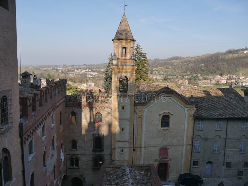 """Εκκλησία του ST Stephen Castell """"Arquato στοκ φωτογραφία με δικαίωμα ελεύθερης χρήσης"""