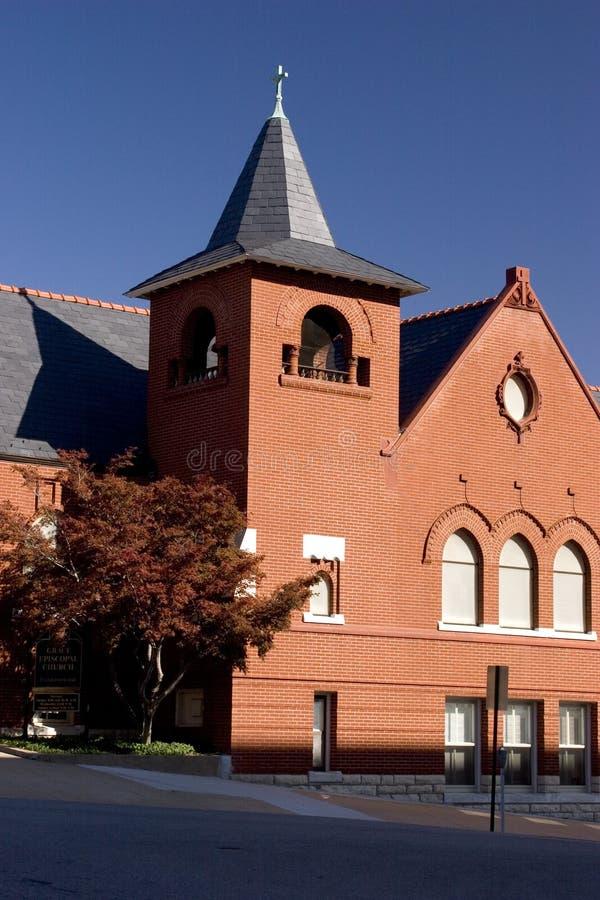 εκκλησία τούβλου παλα&io στοκ φωτογραφία με δικαίωμα ελεύθερης χρήσης