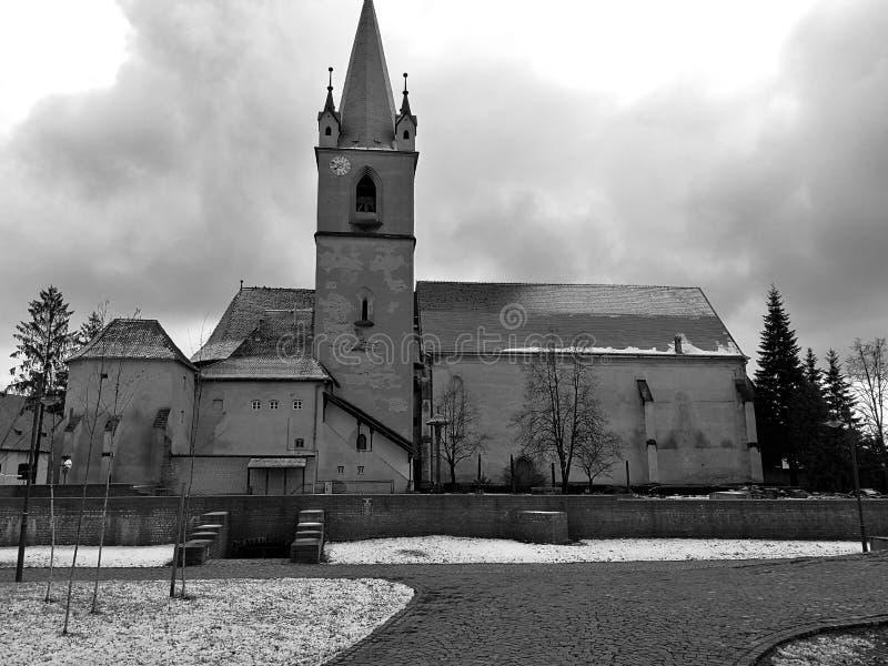 Εκκλησία φρουρίων στοκ εικόνες