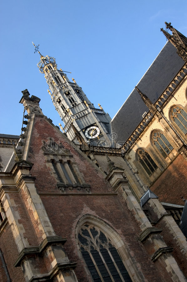 εκκλησία Χάρλεμ s ST bavo στοκ εικόνες
