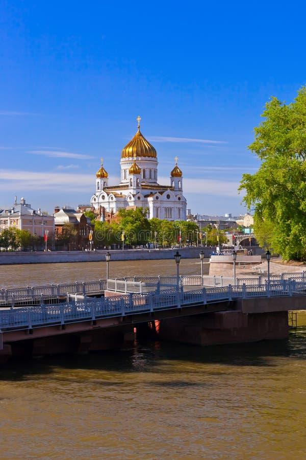 Εκκλησία Χριστού το Savior στη Μόσχα Ρωσία στοκ φωτογραφία