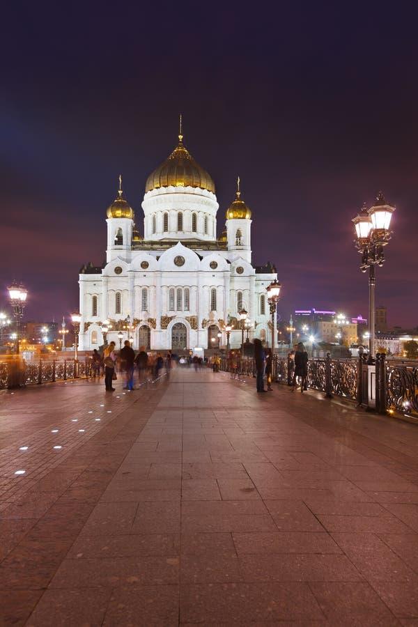 Εκκλησία Χριστού το Savior στη Μόσχα στοκ εικόνα