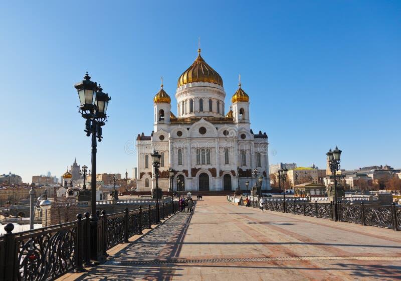 Εκκλησία Χριστού το Savior στη Μόσχα στοκ εικόνες με δικαίωμα ελεύθερης χρήσης