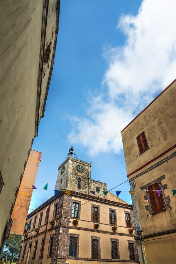 Εκκλησία Croce Santa μια ηλιόλουστη ημέρα στοκ εικόνες με δικαίωμα ελεύθερης χρήσης