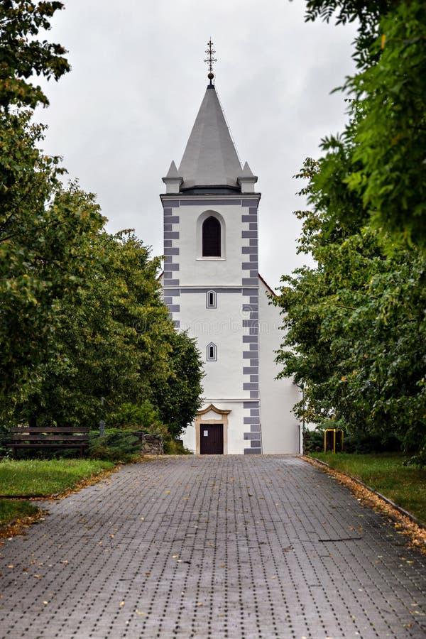 Εκκλησία, Devinska Nova Ves στοκ εικόνες