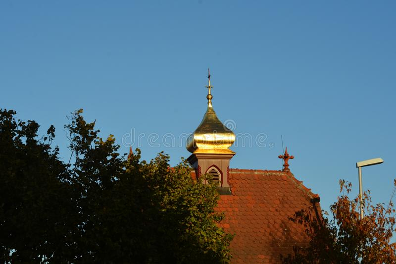 Εκκλησία Dieburg, Hesse, Γερμανία Kapuzinerkloster στοκ φωτογραφία με δικαίωμα ελεύθερης χρήσης