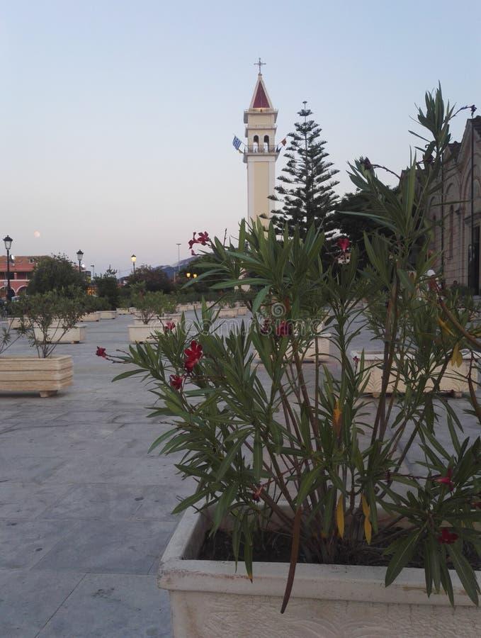 Εκκλησία Dionysios επιβαρύνσεων, Zante, Ζάκυνθος στοκ φωτογραφία με δικαίωμα ελεύθερης χρήσης