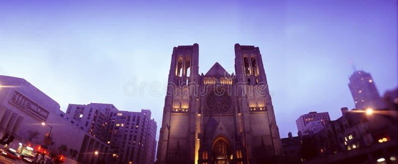 εκκλησία Francisco SAN ΗΠΑ στοκ φωτογραφία με δικαίωμα ελεύθερης χρήσης