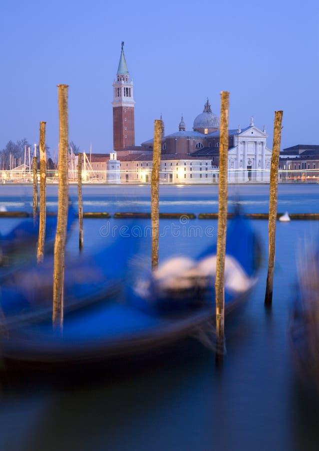 εκκλησία Giorgio SAN Βενετία στοκ εικόνες