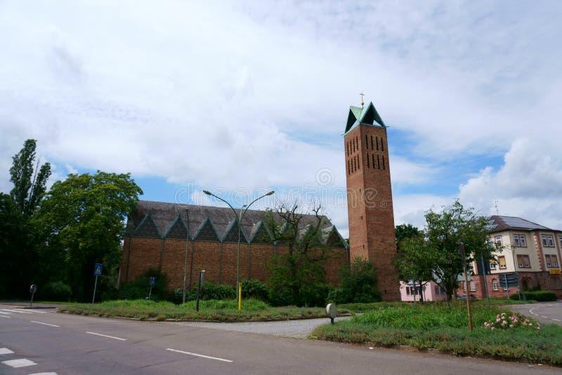 Εκκλησία Hanau Χριστού στοκ εικόνες