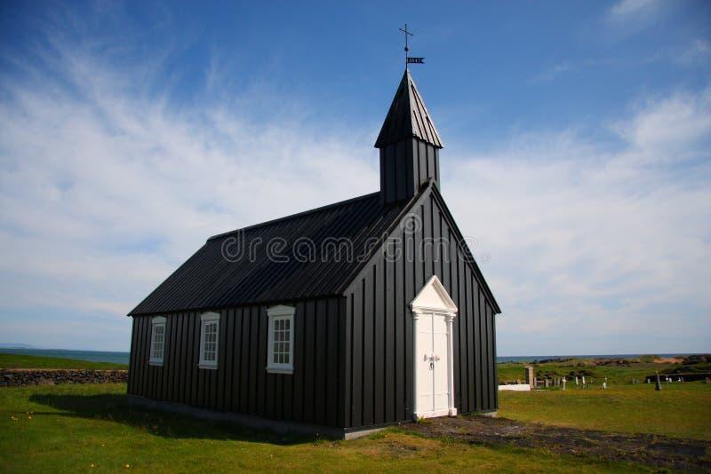 εκκλησία icelanic στοκ φωτογραφία