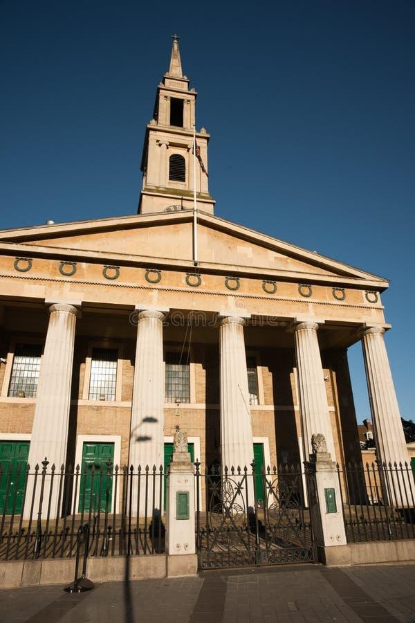 εκκλησία John s ST Βατερλώ στοκ εικόνα με δικαίωμα ελεύθερης χρήσης