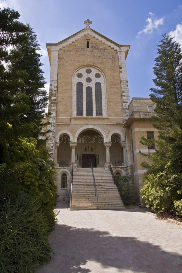 εκκλησία latrun s στοκ εικόνες