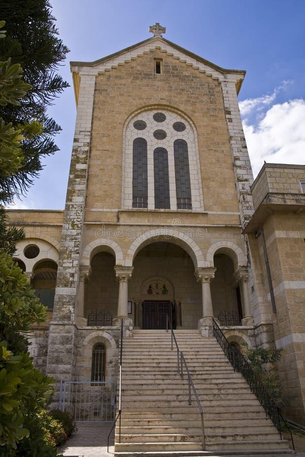 εκκλησία latrun s στοκ εικόνα με δικαίωμα ελεύθερης χρήσης
