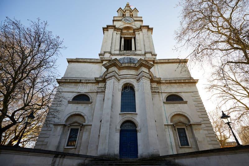 Εκκλησία Limehouse, Λονδίνο του ST Anne στοκ εικόνες