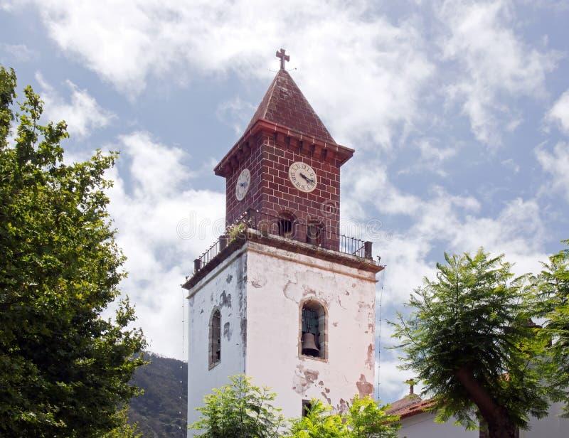 Εκκλησία Machico, Μαδέρα στοκ φωτογραφίες