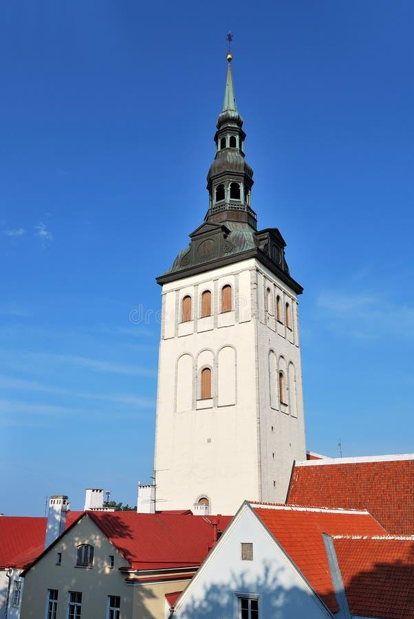 εκκλησία niguliste παλαιό Ταλίν στοκ φωτογραφίες με δικαίωμα ελεύθερης χρήσης