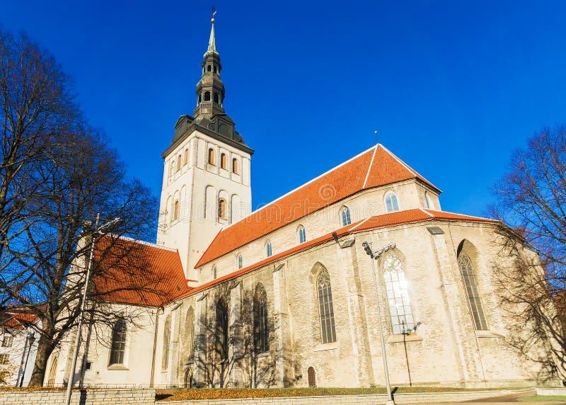 Εκκλησία Niguliste στο Ταλίν, Εσθονία στοκ φωτογραφία